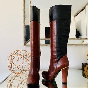 Latitude Femme Leather Boots